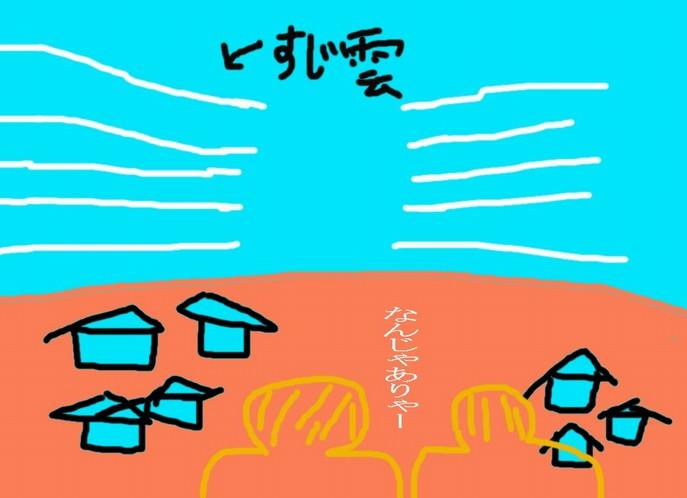 すじ雲イメージ
